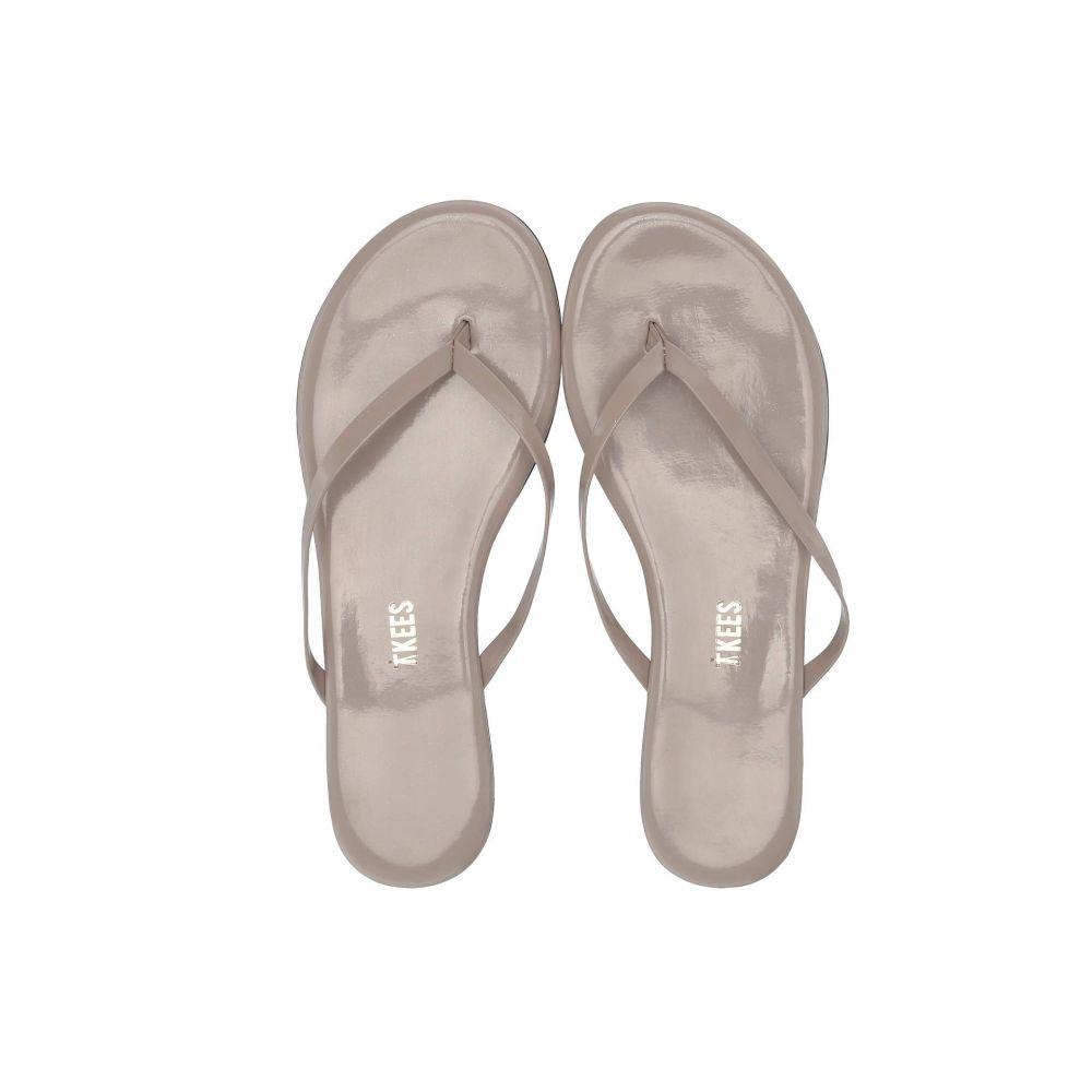 ティキーズ TKEES レディース ビーチサンダル シューズ・靴【Glosses】Custard