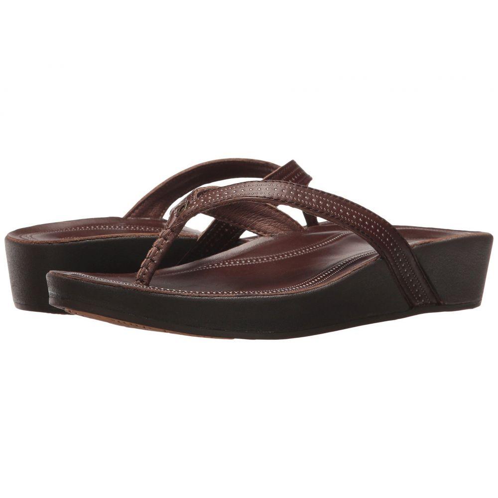 オルカイ OluKai レディース ビーチサンダル シューズ・靴【Ola】Dark Java/Dark Java