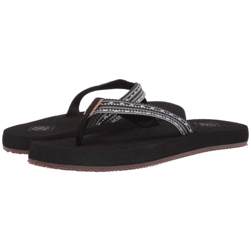 フリーウォータース Freewaters レディース ビーチサンダル シューズ・靴【Supreem】Black II