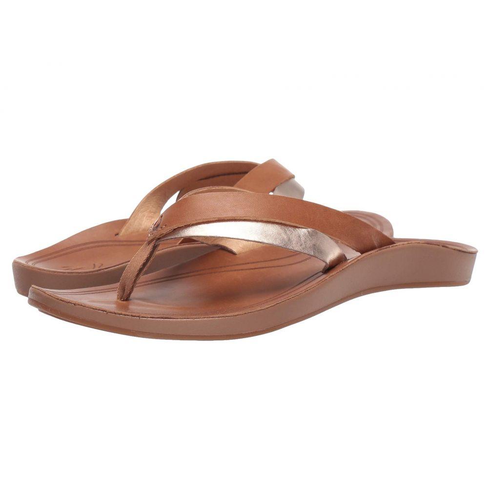 オルカイ OluKai レディース ビーチサンダル シューズ・靴【Kaekae】Sahara/Bubbly