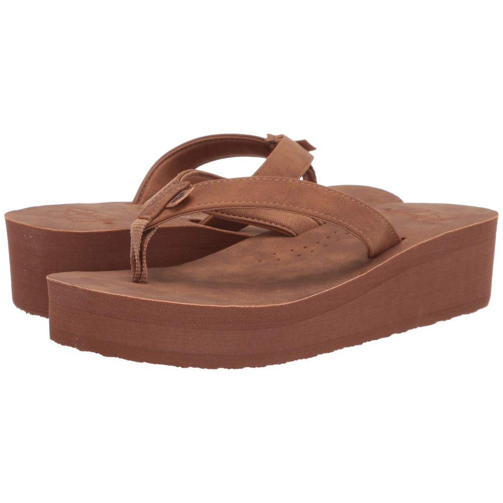 ロキシー Roxy レディース ビーチサンダル シューズ・靴【Melinda】Brown