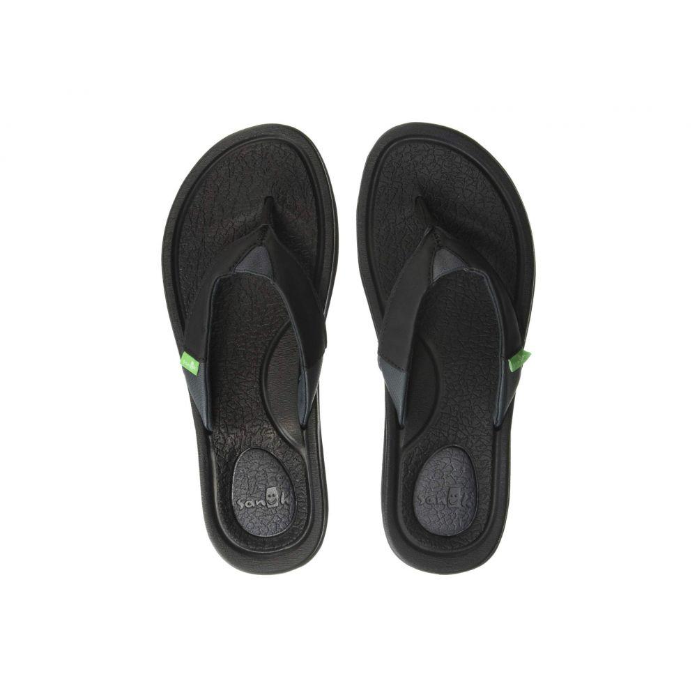 サヌーク Sanuk レディース ビーチサンダル シューズ・靴【Yoga Mat 3】Black