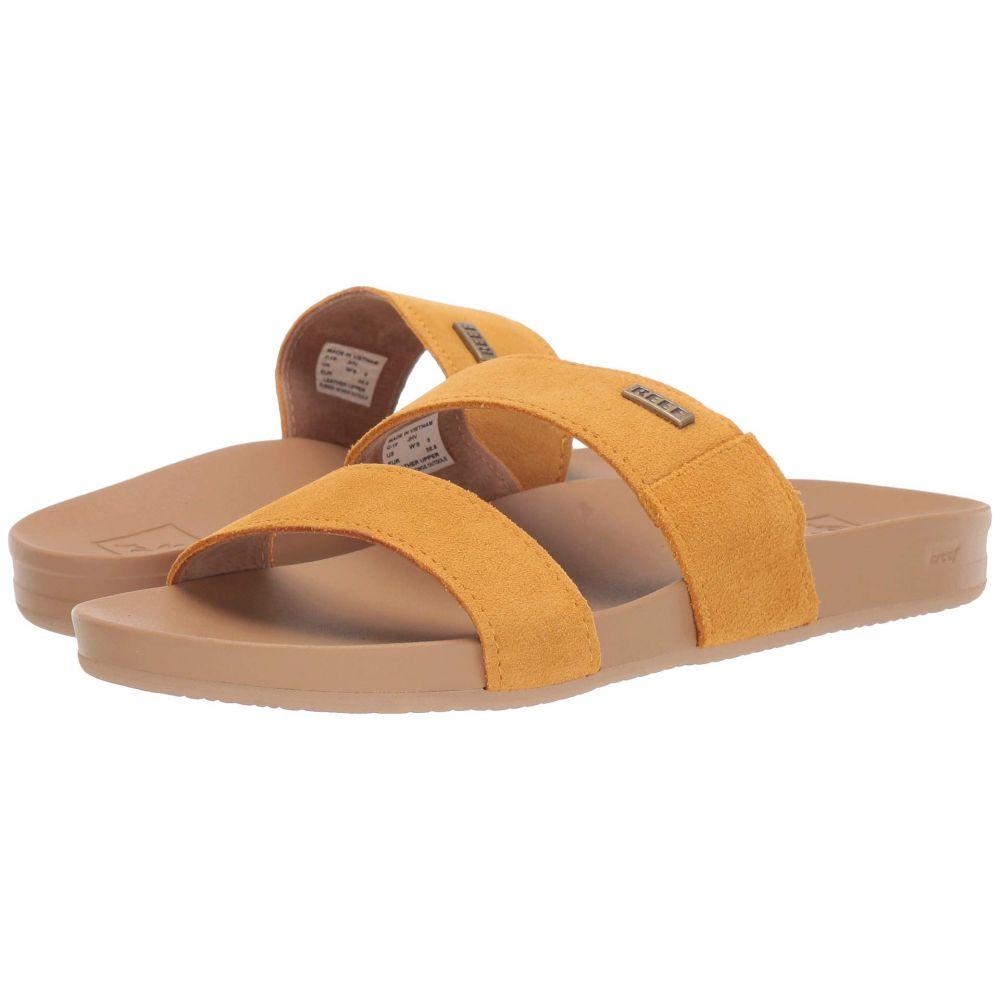 リーフ Reef レディース ビーチサンダル シューズ・靴【Cushion Bounce Vista Suede】Mustard