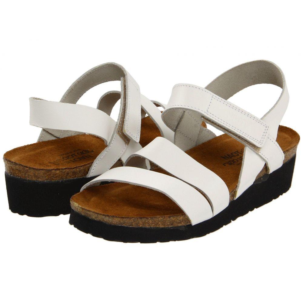 ナオト Naot レディース サンダル・ミュール シューズ・靴【Kayla】White Leather