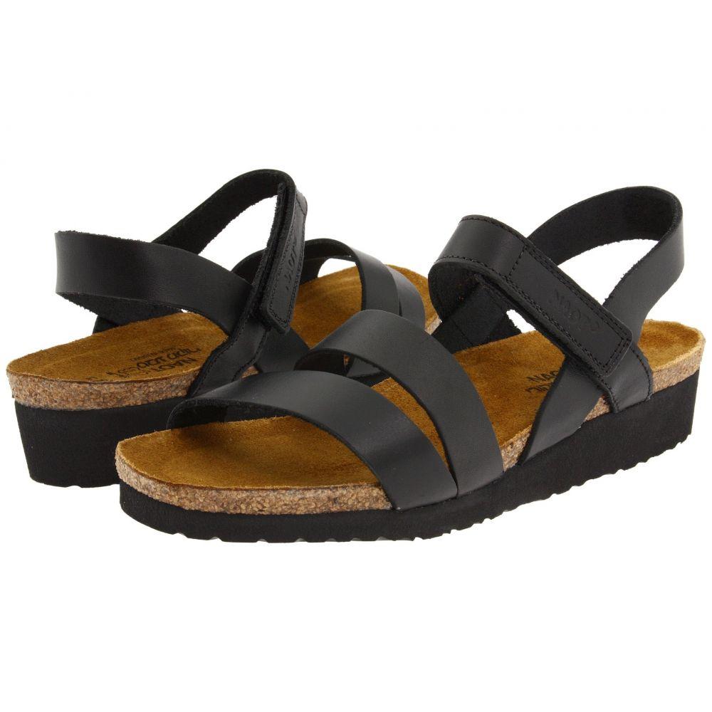 ナオト Naot レディース サンダル・ミュール シューズ・靴【Kayla】Black Matte Leather