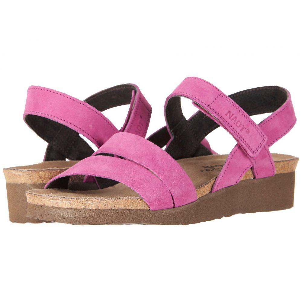 ナオト Naot レディース サンダル・ミュール シューズ・靴【Kayla】Pink Plum Nubuck