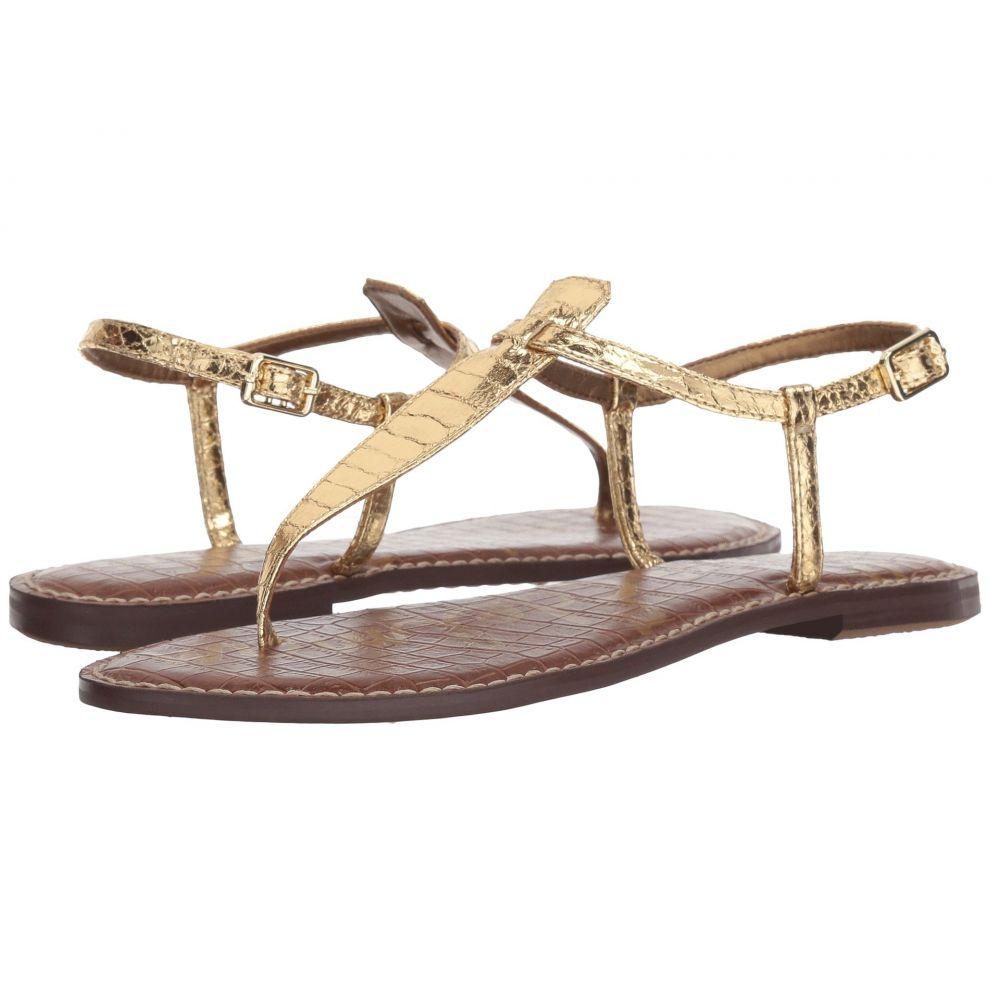 サム エデルマン Sam Edelman レディース サンダル・ミュール シューズ・靴【Gigi】Gold Boa Print