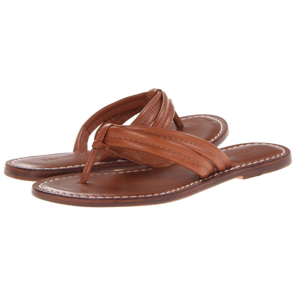 ベルナルド Bernardo レディース ビーチサンダル シューズ・靴【Miami Sandal】Luggage Calf
