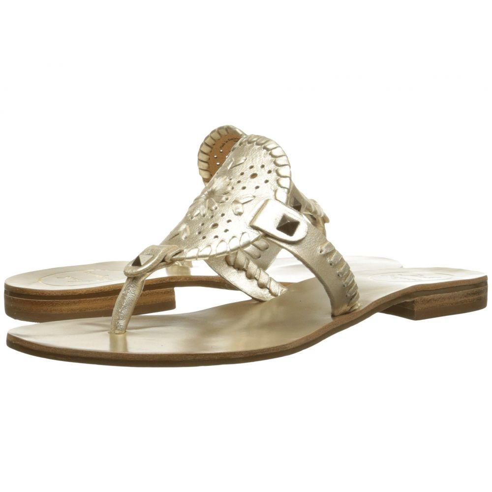 ジャックロジャース Jack Rogers レディース ビーチサンダル シューズ・靴【Georgica Sandal】Platinum