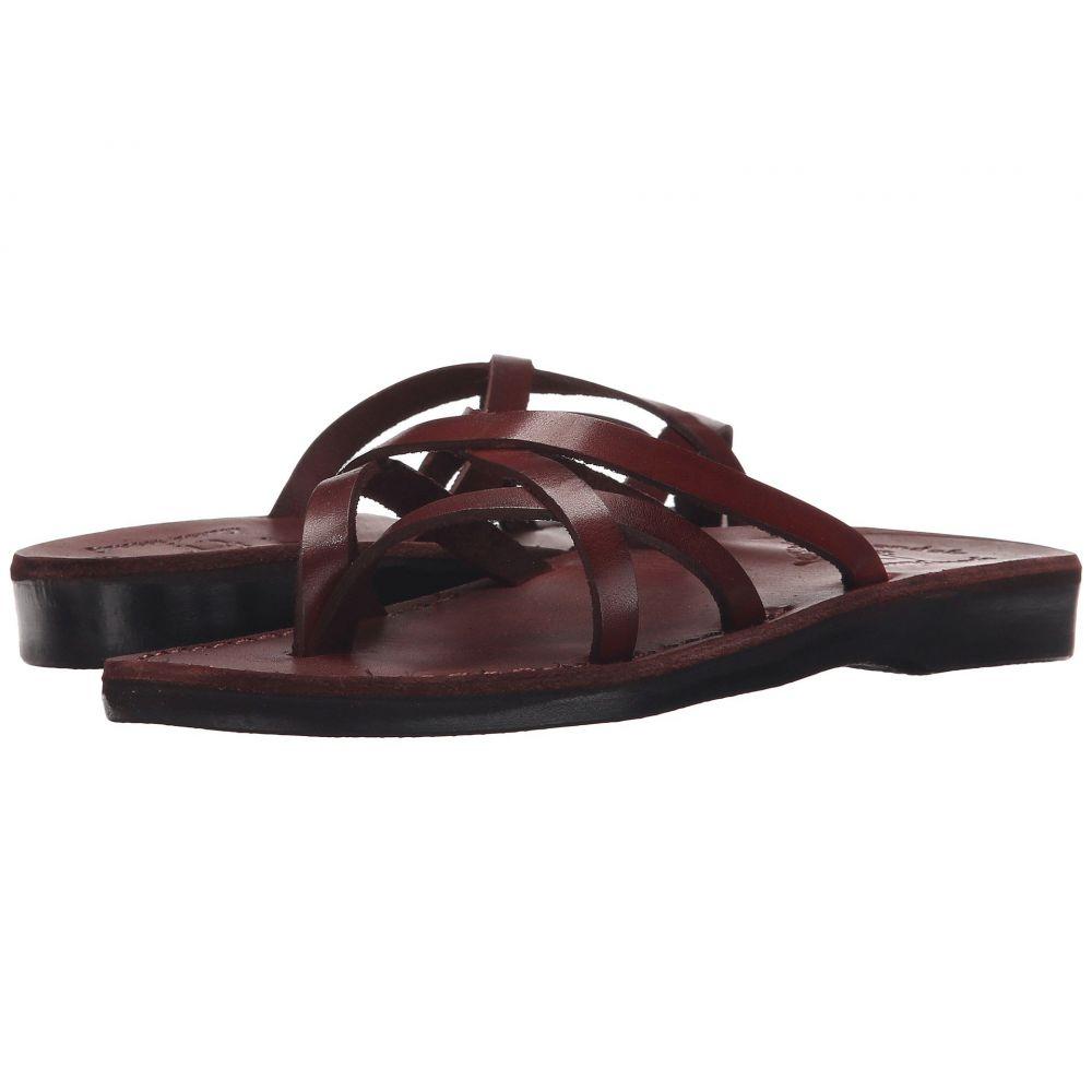 エルサレムサンダル Jerusalem Sandals レディース ビーチサンダル シューズ・靴【Tamar -】Brown