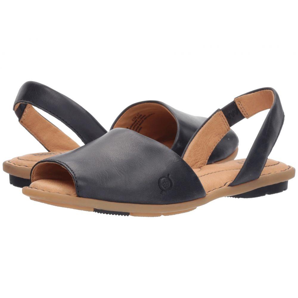 ボーン Born レディース サンダル・ミュール シューズ・靴【Trang】Navy Full Grain Leather