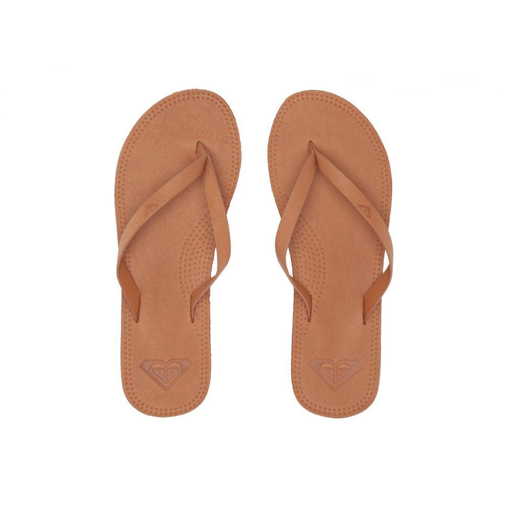 ロキシー Roxy レディース ビーチサンダル シューズ・靴【Brinn】Tan