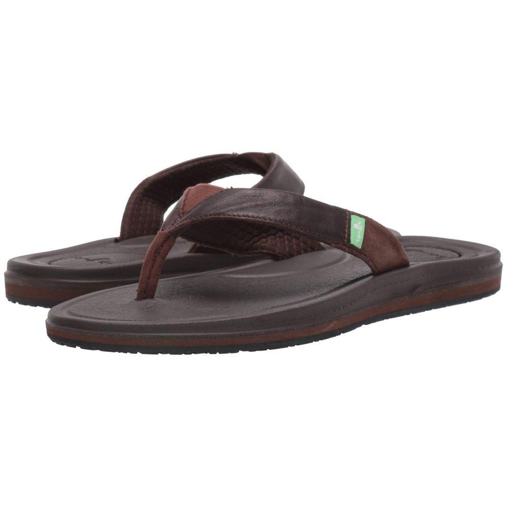 サヌーク Sanuk レディース ビーチサンダル シューズ・靴【Yoga Mat 3 Primo】Brown