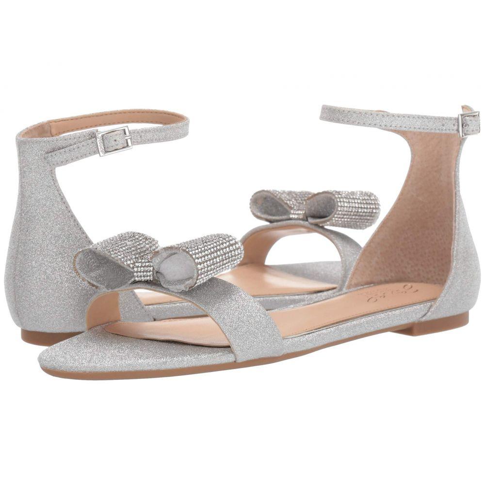 バッジェリー ミシュカ Jewel Badgley Mischka レディース サンダル・ミュール シューズ・靴【Una】Silver