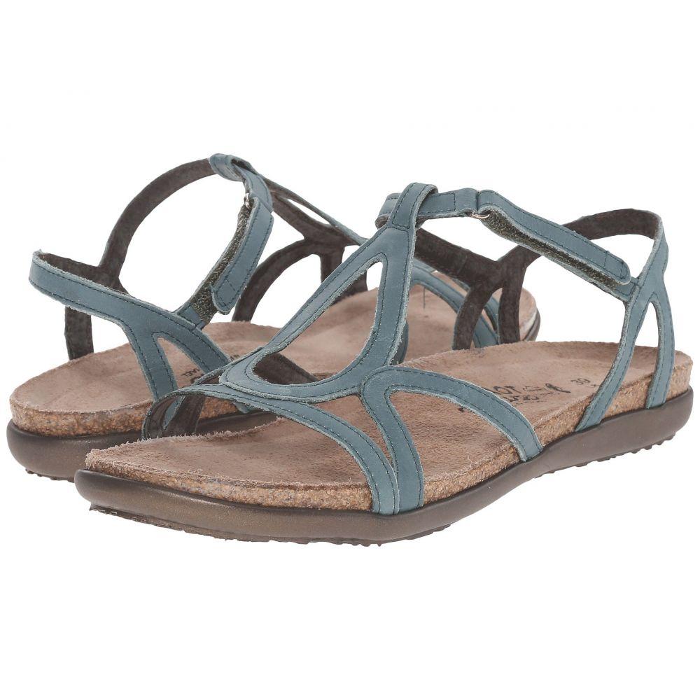 ナオト Naot レディース サンダル・ミュール シューズ・靴【Dorith】Sea Green Leather