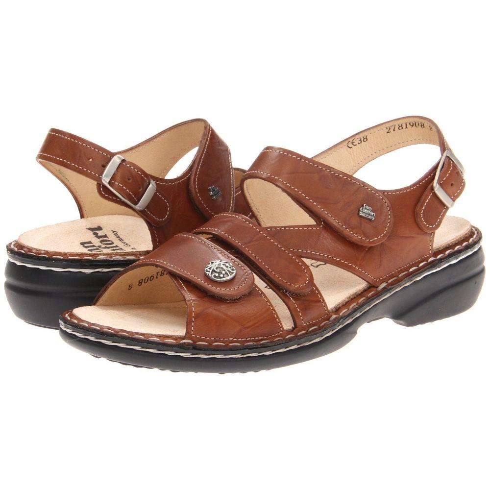フィンコンフォート Finn Comfort レディース サンダル・ミュール シューズ・靴【Gomera - 82562】Cognac