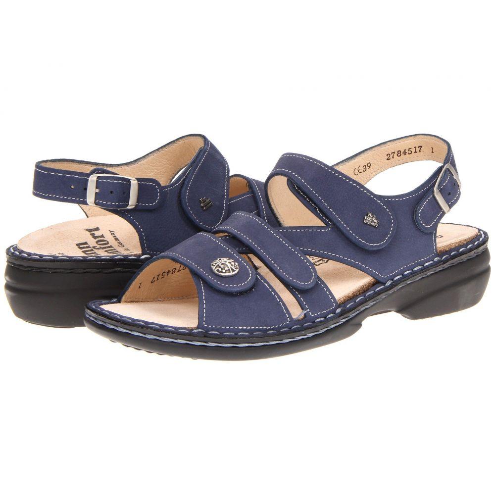 フィンコンフォート Finn Comfort レディース サンダル・ミュール シューズ・靴【Gomera - 82562】Lake
