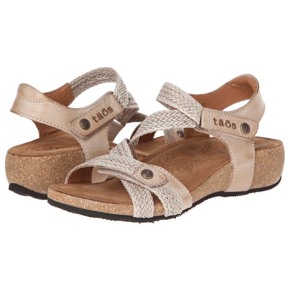 タオス Taos Footwear レディース サンダル・ミュール シューズ・靴【Trulie】Stone