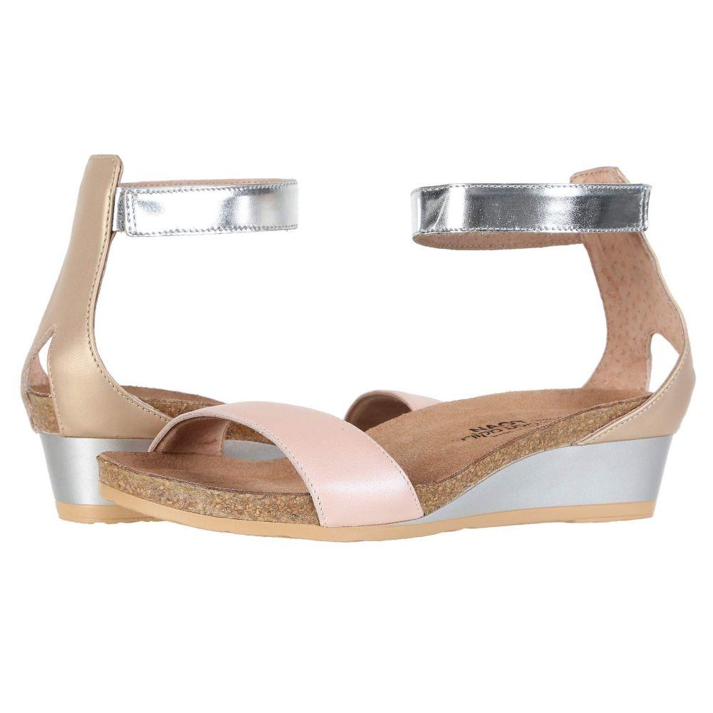 ナオト Naot レディース サンダル・ミュール シューズ・靴【Pixie】Pearl Rose Leather/Champagne Leather/Silver Mirror Leather