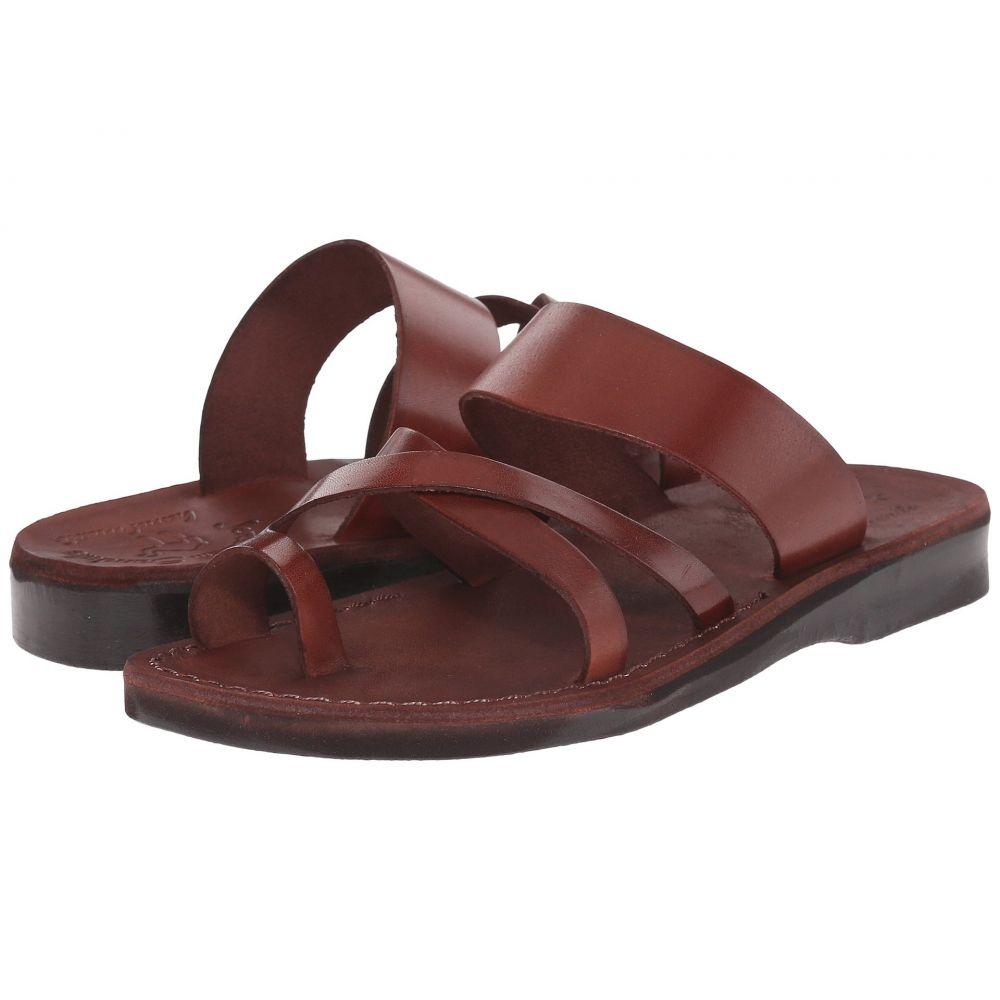 エルサレムサンダル Jerusalem Sandals レディース サンダル・ミュール シューズ・靴【The Good Shepherd -】Brown