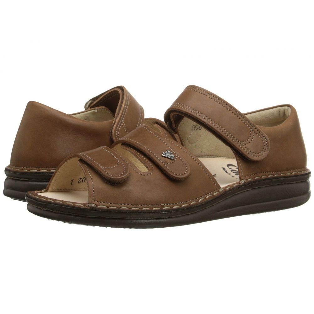 フィンコンフォート Finn Comfort レディース サンダル・ミュール シューズ・靴【Baltrum】Nut
