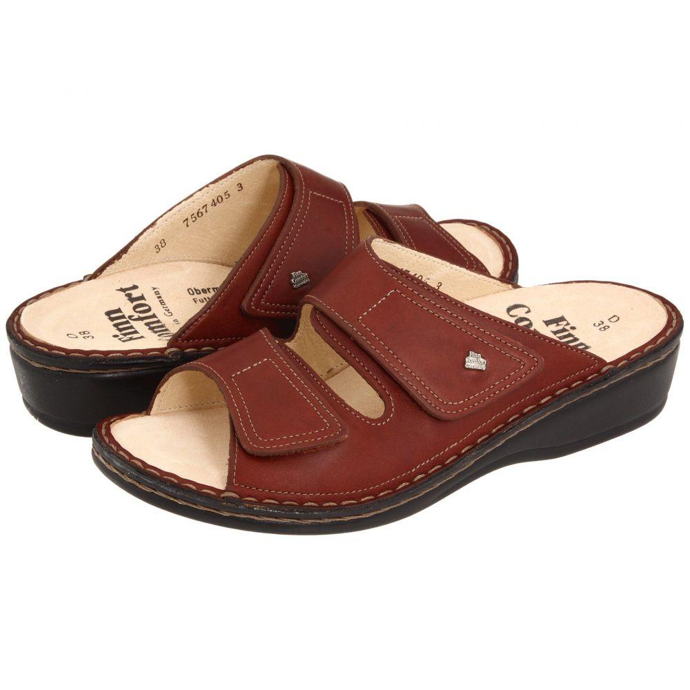 フィンコンフォート Finn Comfort レディース サンダル・ミュール シューズ・靴【Jamaica - 82519】Brandy Country Soft Footbed