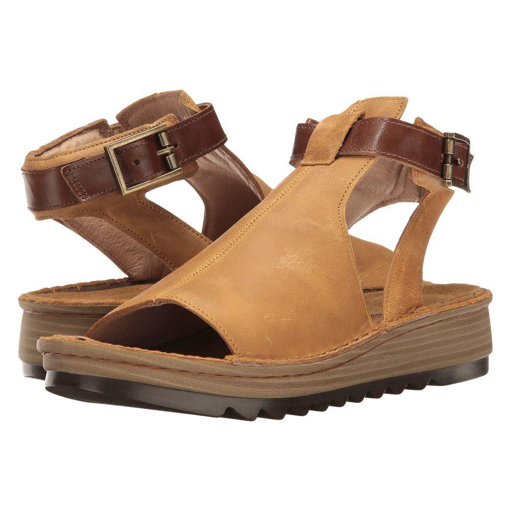 ナオト Naot レディース サンダル・ミュール シューズ・靴【Verbena】Oily Dune Nubuck/Maple Brown Leather