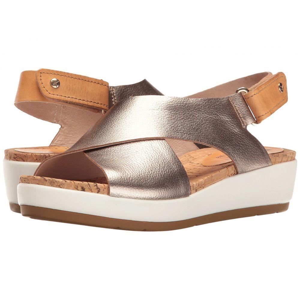 ピコリノス Pikolinos レディース サンダル・ミュール シューズ・靴【Mykonos W1G-0757CL】Stone Camel