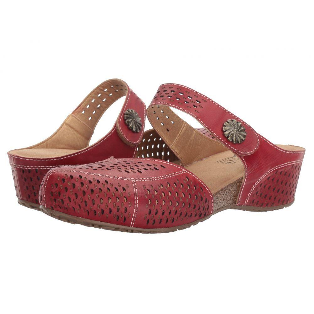 スプリングステップ L'Artiste by Spring Step レディース サンダル・ミュール シューズ・靴【Spoorti】Red
