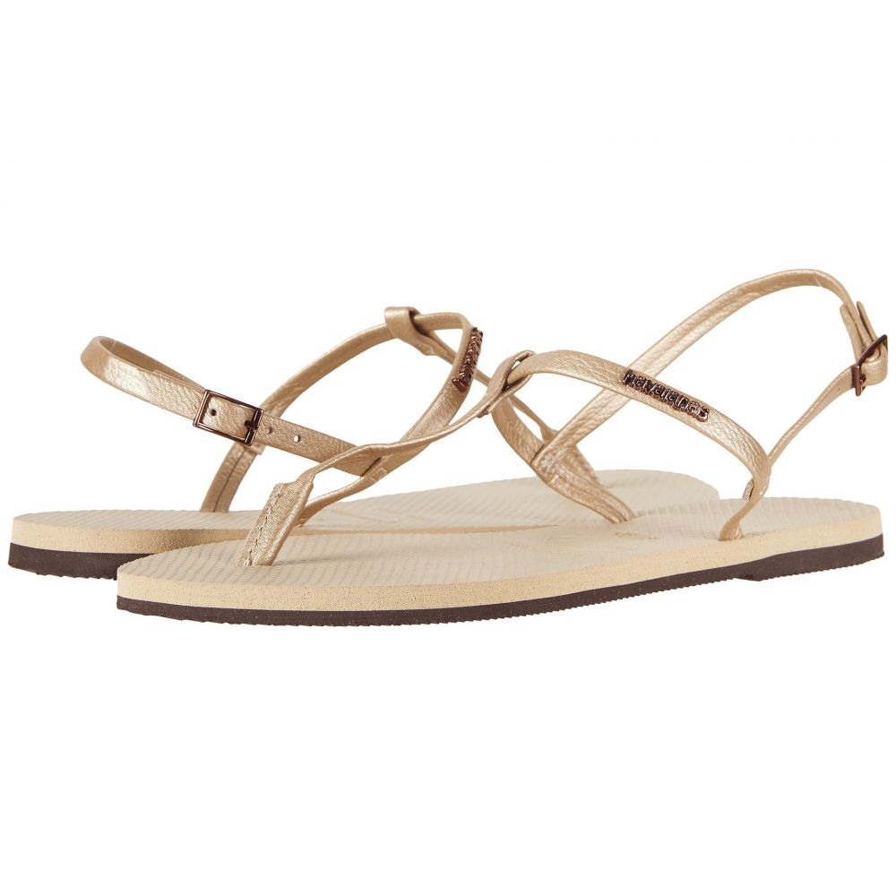 ハワイアナス Havaianas レディース サンダル・ミュール シューズ・靴【You Riviera Sandals】Sand Grey