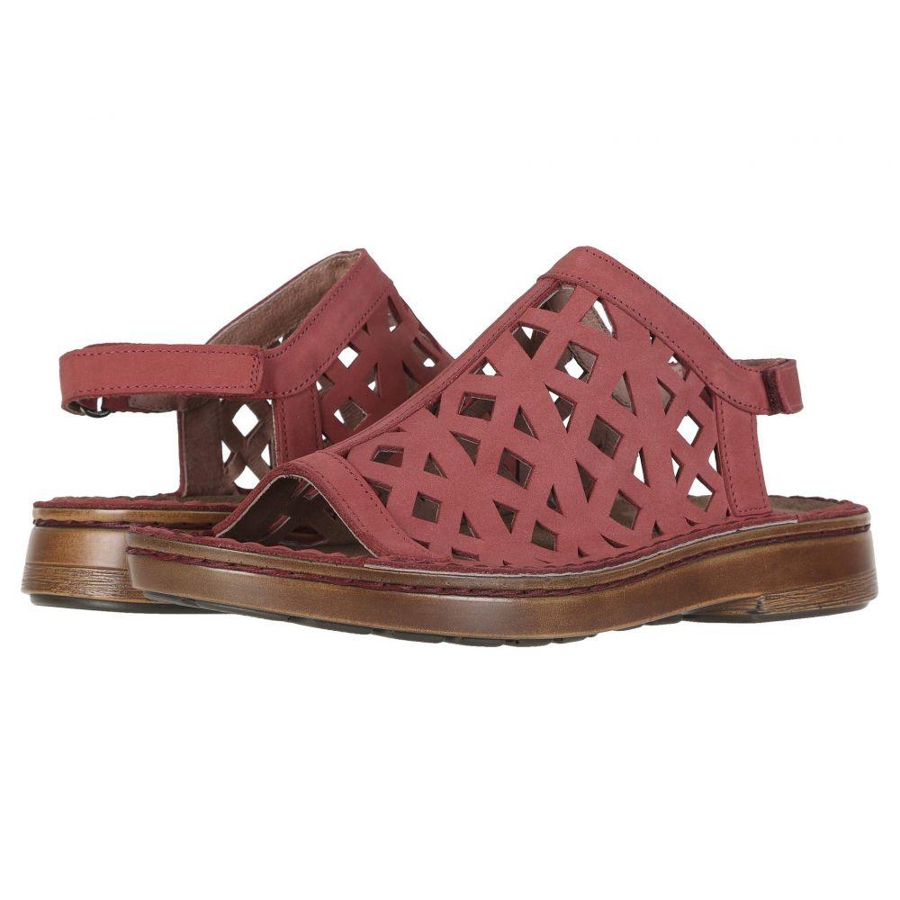 ナオト Naot レディース サンダル・ミュール シューズ・靴【Amadora】Brick Red Nubuck