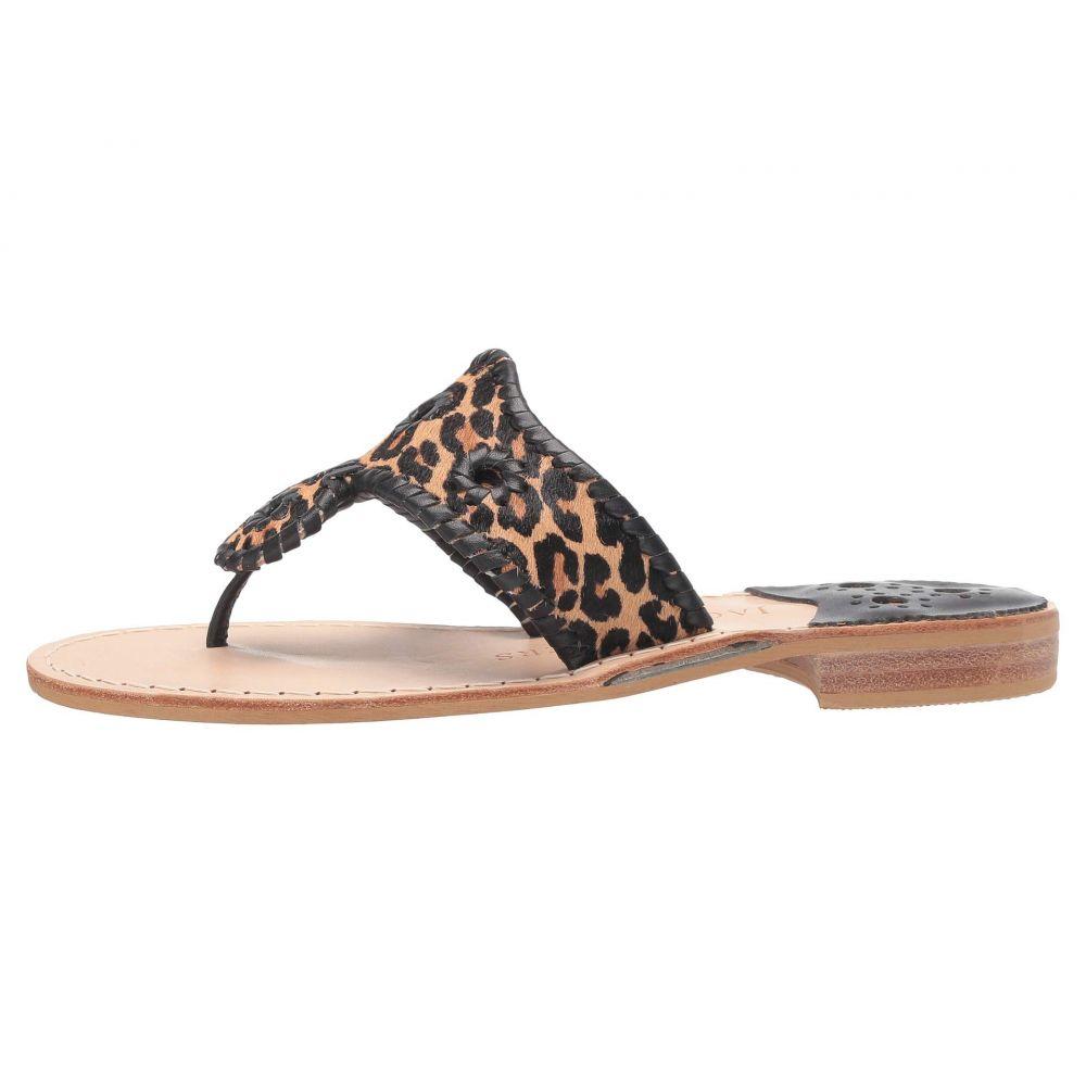 ジャックロジャース Jack Rogers レディース サンダル・ミュール フラット シューズ・靴 Jacks Flat Sandal Leopard PrintbHeIWYED29
