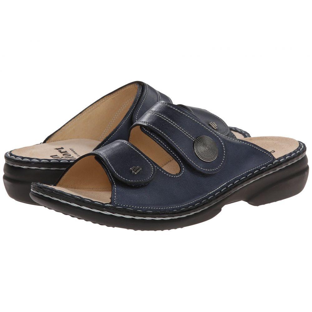 フィンコンフォート Finn Comfort レディース サンダル・ミュール シューズ・靴【Sansibar - 82550】Marine Leather