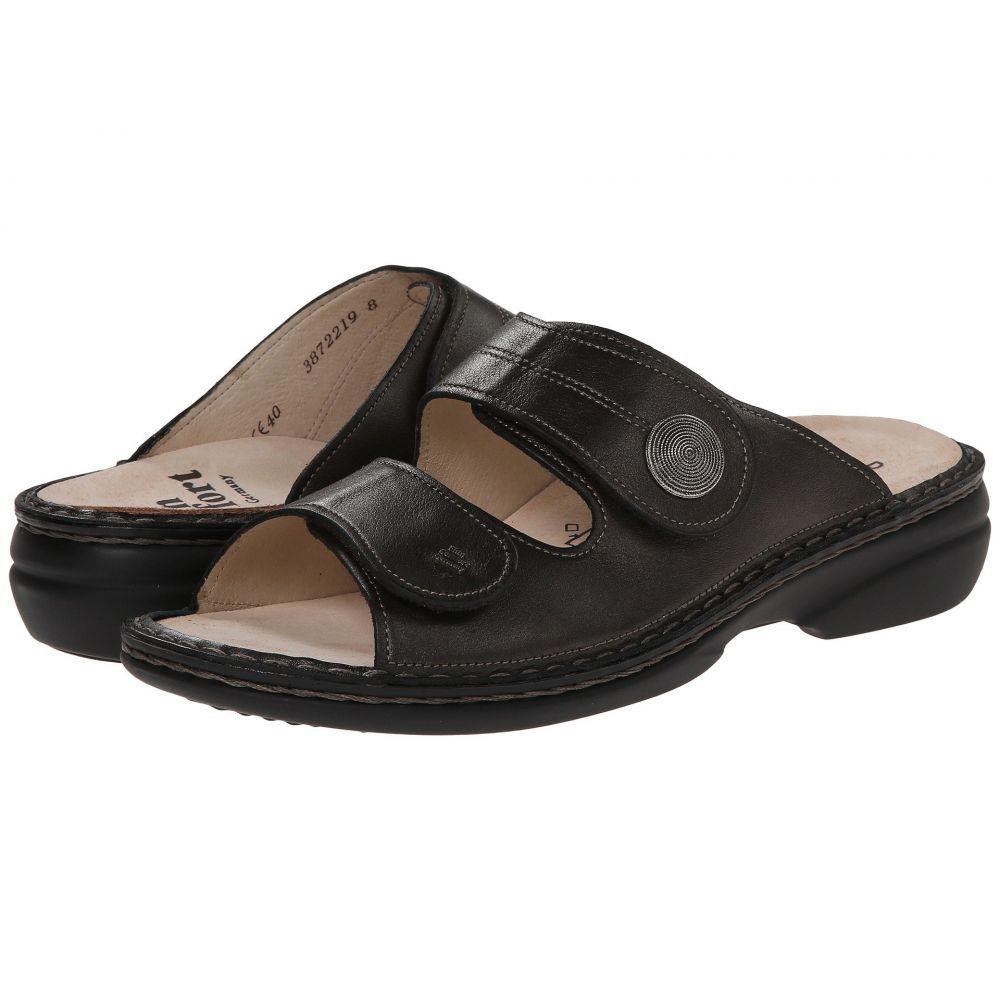 フィンコンフォート Finn Comfort レディース サンダル・ミュール シューズ・靴【Sansibar - 82550】Cigar Luxory Leather