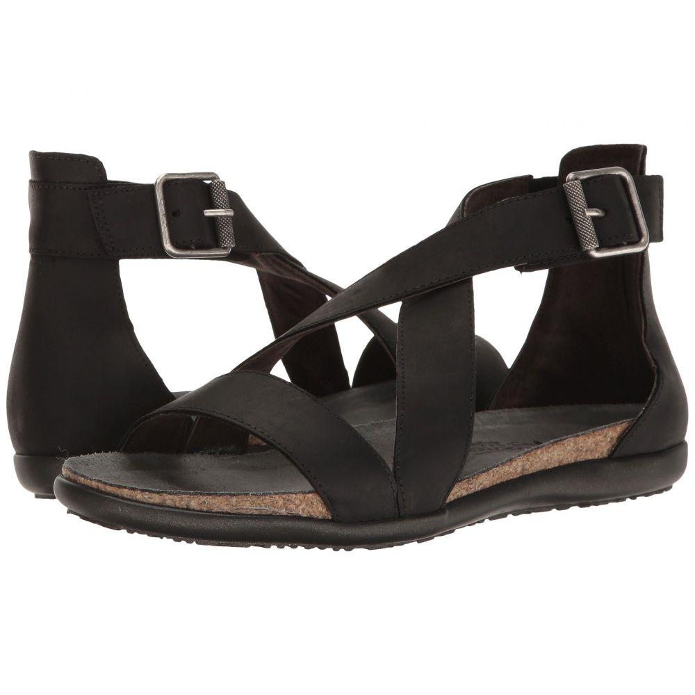 ナオト Naot レディース サンダル・ミュール シューズ・靴【Rianna】Oily Coal Nubuck