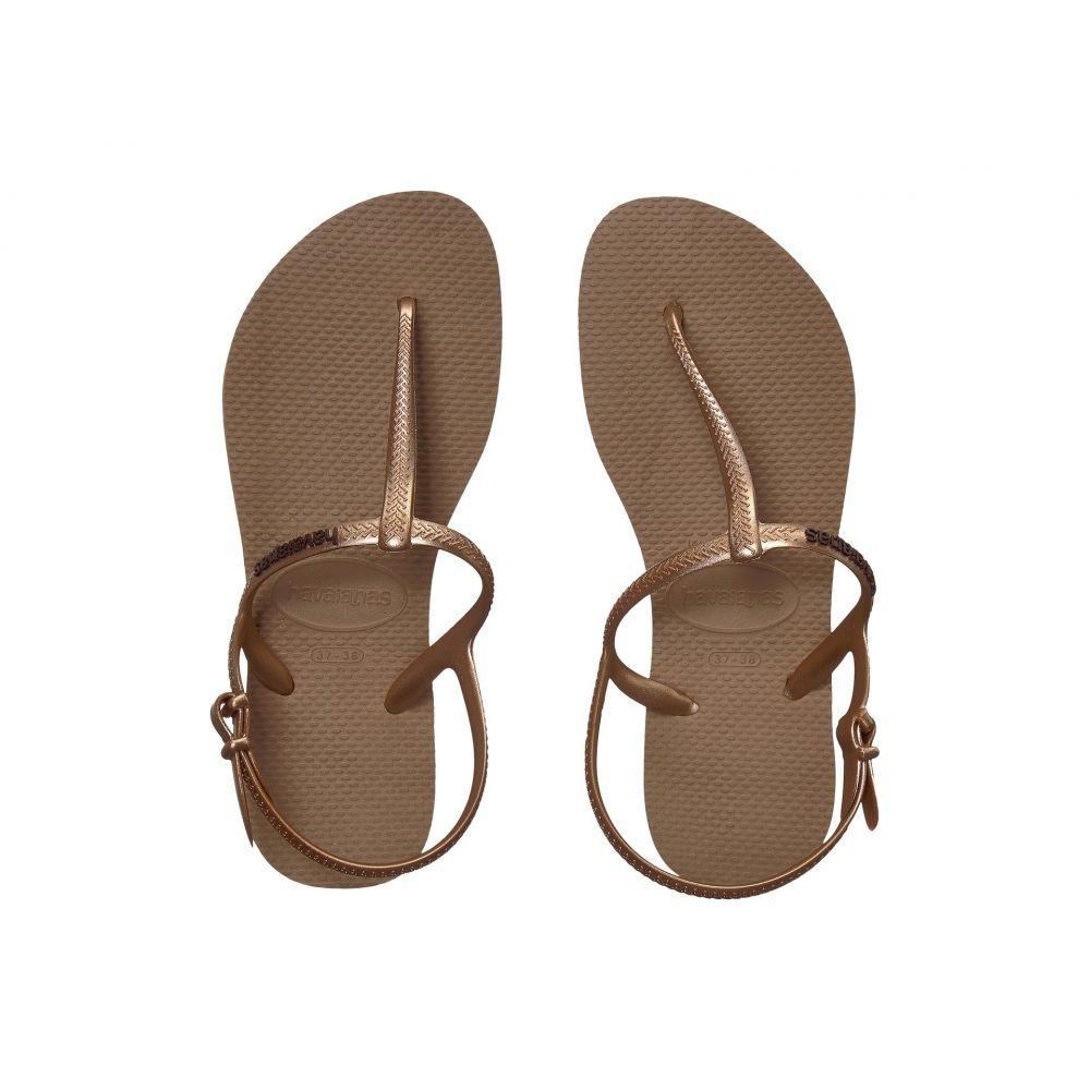 ハワイアナス Havaianas レディース ビーチサンダル シューズ・靴【Freedom SL Flip-Flops】Rose Gold