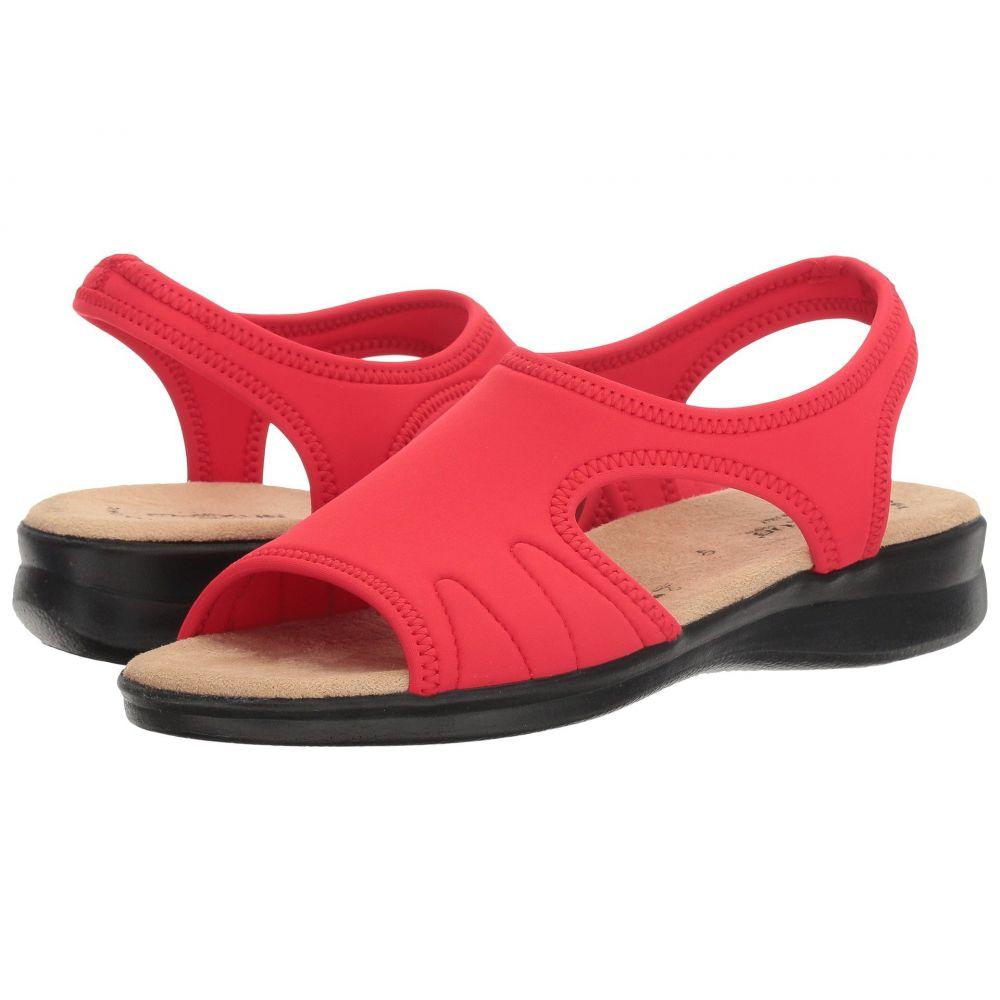 スプリングステップ Spring Step レディース サンダル・ミュール シューズ・靴【Nyaman】Red