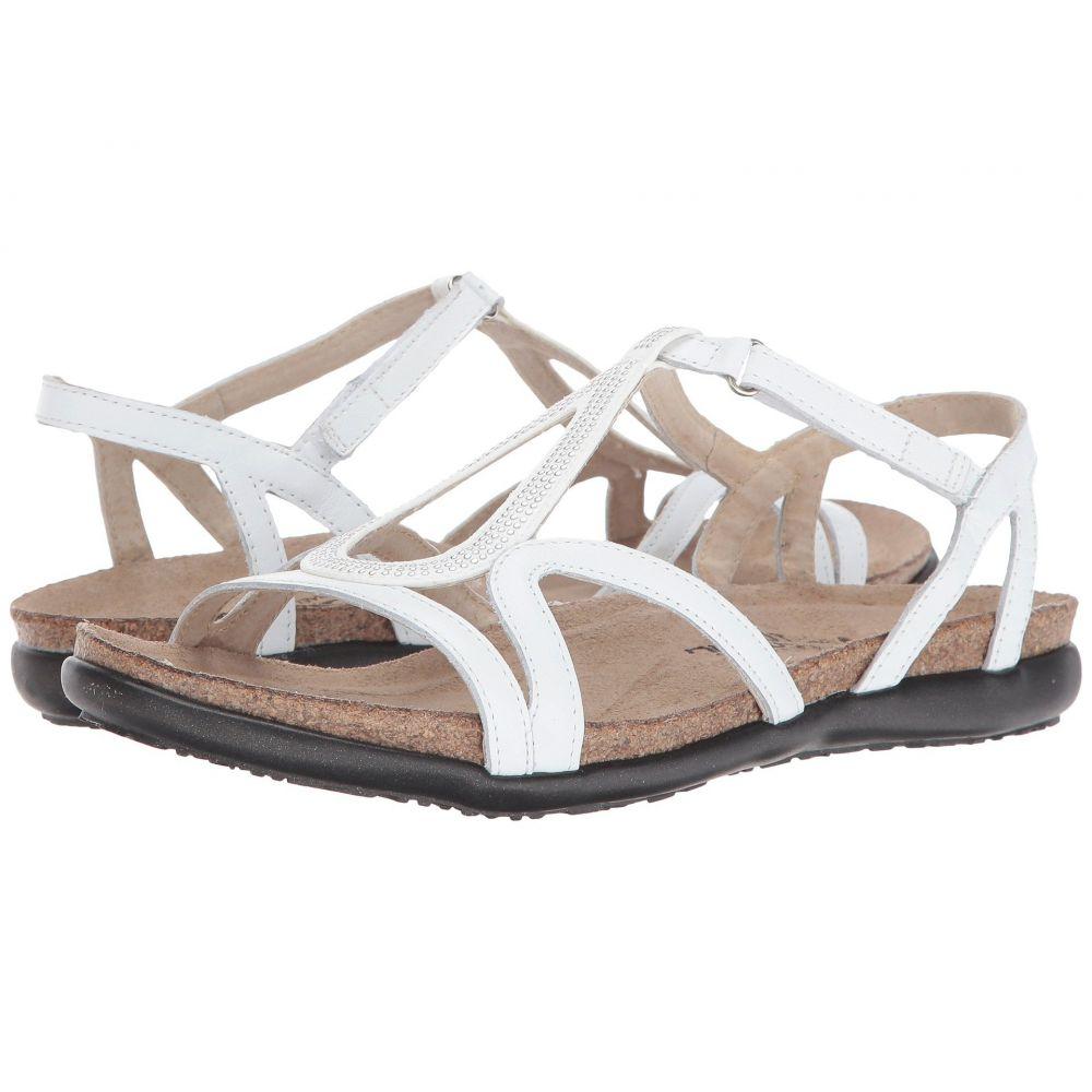 ナオト Naot レディース サンダル・ミュール シューズ・靴【Tamara】White Leather/Silver Rivets