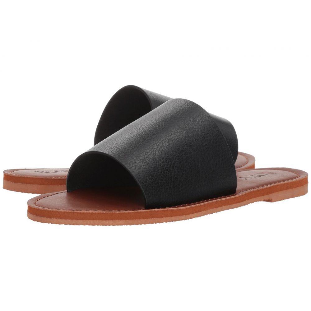 ロキシー Roxy レディース サンダル・ミュール シューズ・靴【Kaia】Black