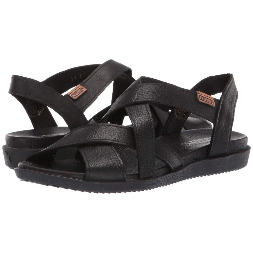 ピコリノス Pikolinos レディース サンダル・ミュール シューズ・靴【Antillas W0H-0805BG】Black