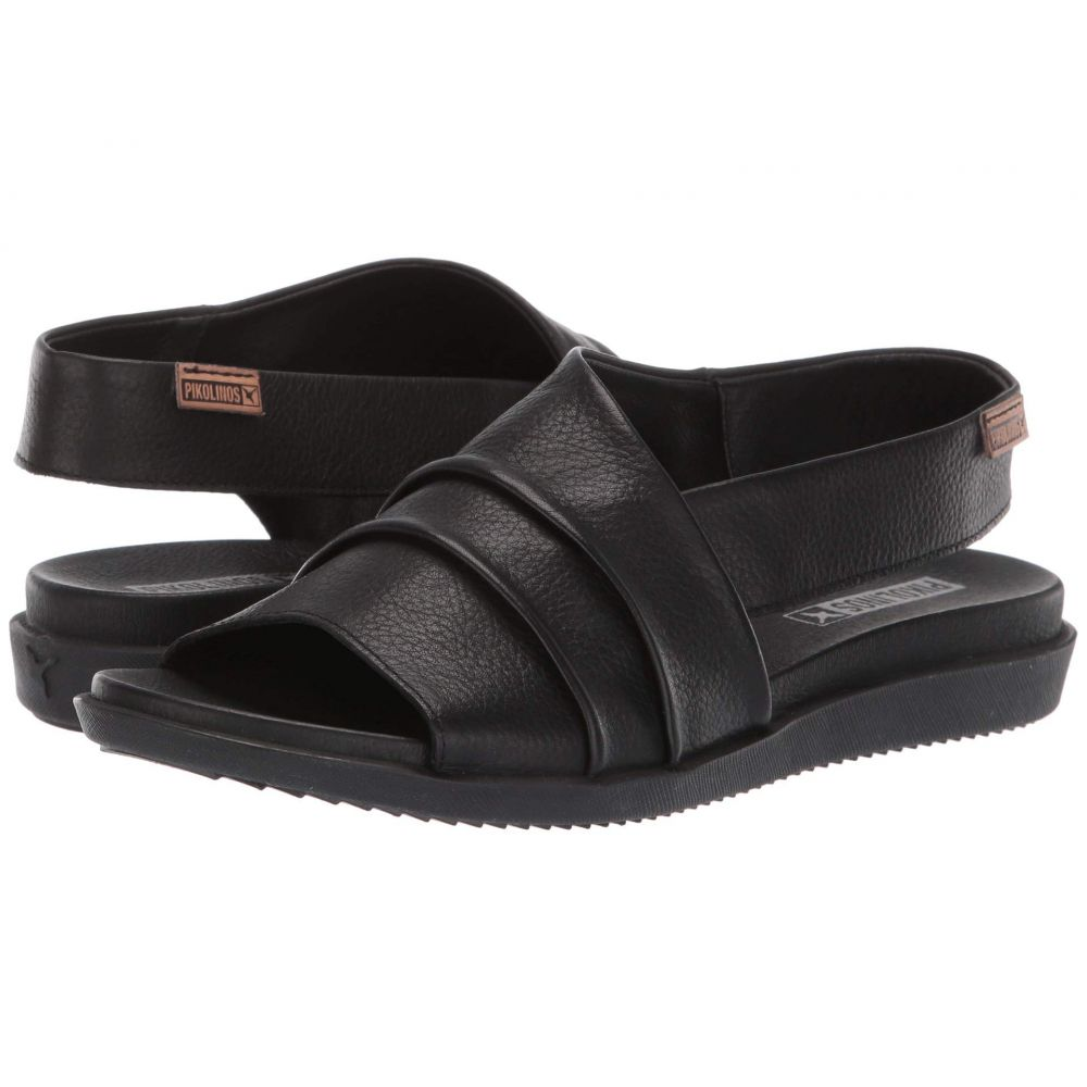ピコリノス Pikolinos レディース サンダル・ミュール シューズ・靴【Antillas W0H-0810BG】Black