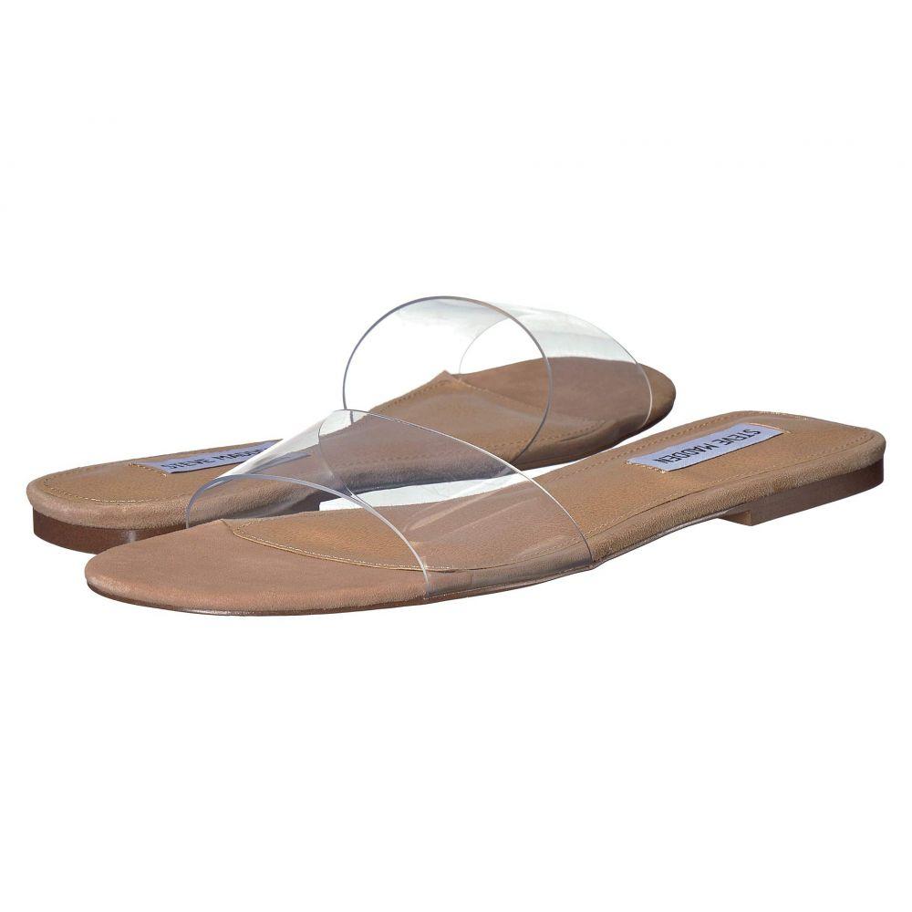 スティーブ マデン Steve Madden レディース サンダル・ミュール フラット シューズ・靴【Bev Flat Sandal】Clear