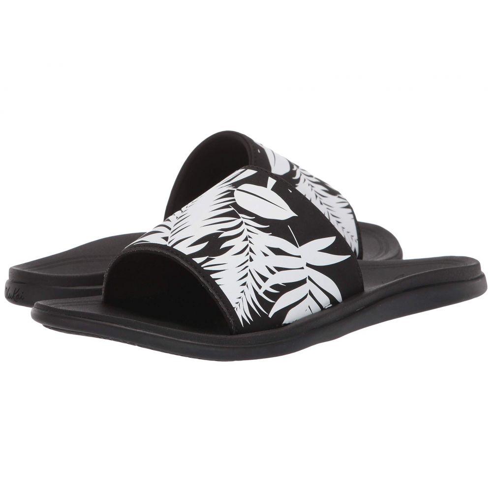 オルカイ OluKai レディース サンダル・ミュール シューズ・靴【Punua 'Olu】Black/Lau