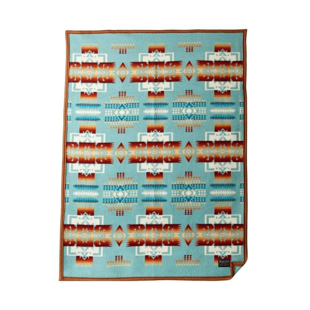 ペンドルトン Pendleton レディース 雑貨 ブランケット【Chief Joseph Muchacho Blanket】Aqua