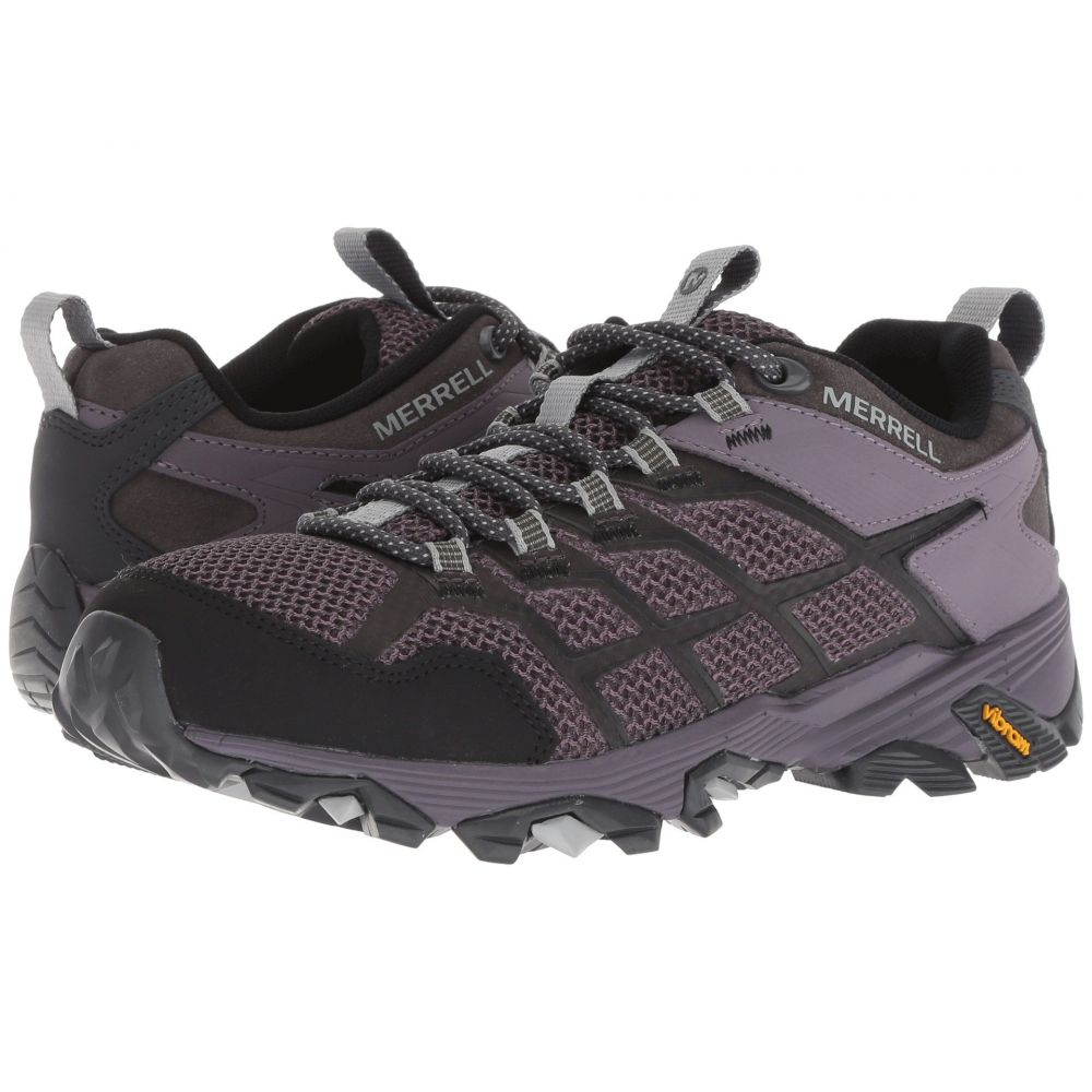 メレル Merrell レディース ハイキング・登山 シューズ・靴【Moab FST 2】Granite/Shark