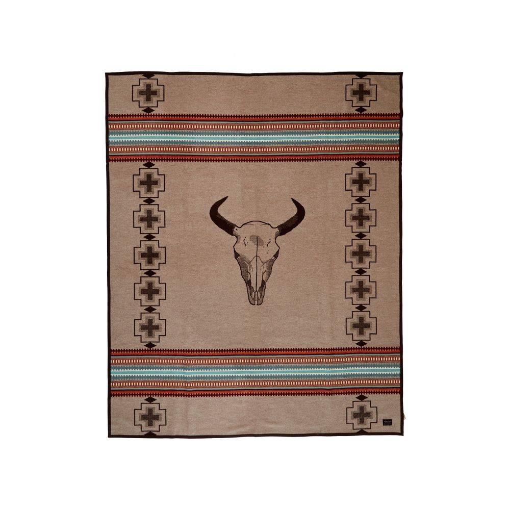ペンドルトン Pendleton レディース 雑貨 ブランケット【Jacquard Blanket Robe】Tan/American West