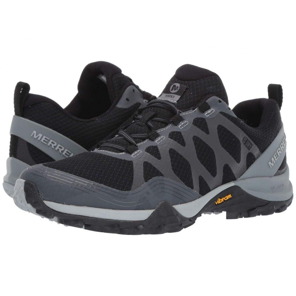 メレル Merrell レディース ハイキング・登山 シューズ・靴【Siren 3 Waterproof】Black