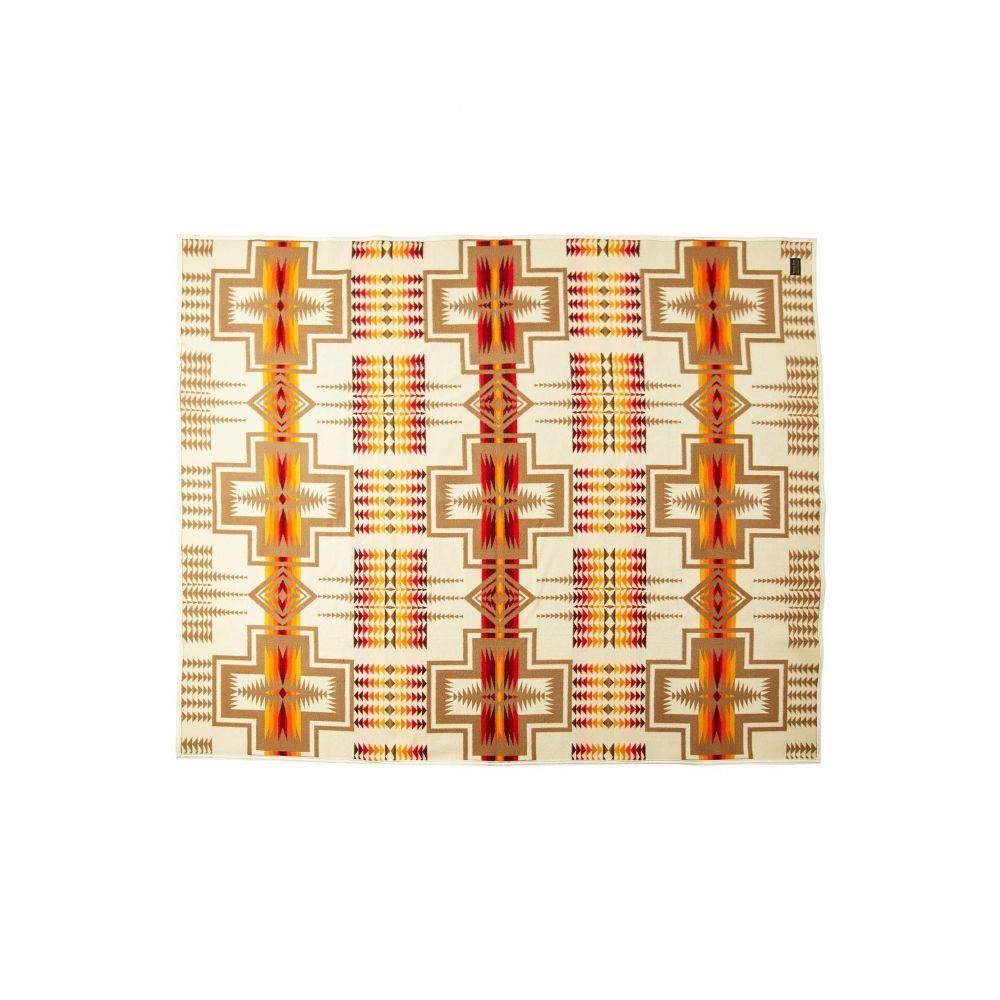 ペンドルトン Pendleton レディース 雑貨 ブランケット【Chief Joseph Robe Blanket】Ivory