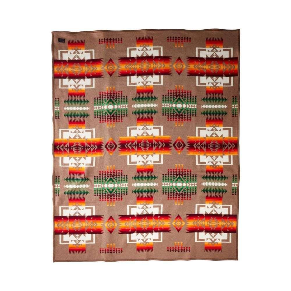 ペンドルトン Pendleton レディース 雑貨 ブランケット【Chief Joseph Robe Blanket】Khaki