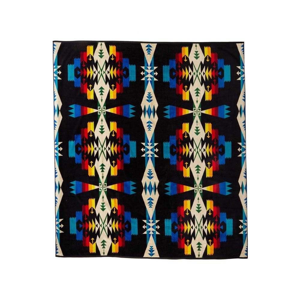 ペンドルトン Pendleton レディース ビーチタオル 水着・ビーチウェア【Towel For Two】Tucson Black